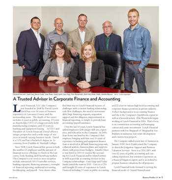 Lynch Financial featured in Central Penn Business Journal.